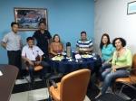 Diretores da Associação Comercial se reúne com Diretores do Sicoob Crediaciprev